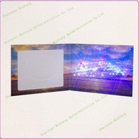 new design special led birthday quotes greeting card