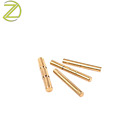 China Manufacturer Custom Electrical Plug Brass Pins Brass Dowel Pins with Knurling