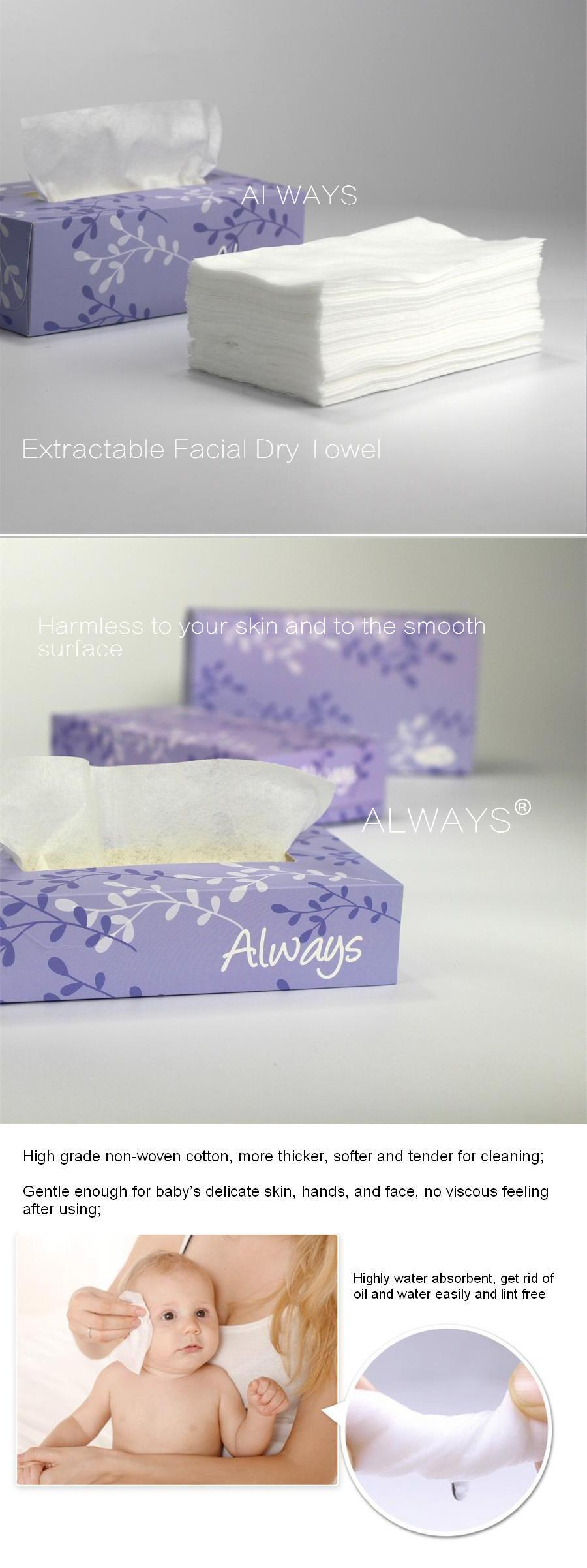 Disposable wave printing household wipes Towel OEM in China