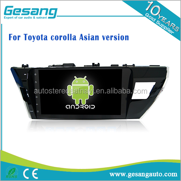 Car Multimedia System android 6.0 car dvd player car radio for <strong>Toyota</strong> <strong>corolla</strong> Asian versio with GPS Navigation,DVR,IPOD and <strong>TV</strong>