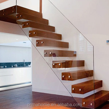 Marvelous Floating Glass Stair Price / Portable Small Space Stairs