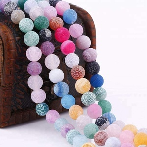 8mm Mixed Colors Wholesale Dream Fire Dragon Veins Agate Stone Beads