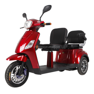 ST096 double seats electric tricycle motorcycle mobility scooter