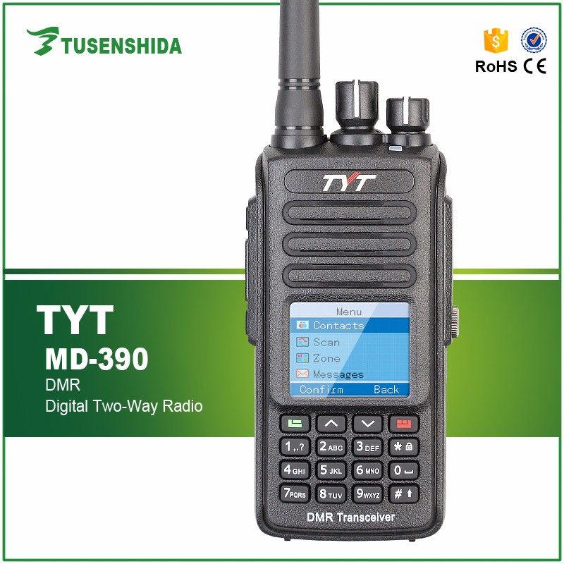 tytera md 390 dmr radio IP67 Waterproof GPS optional ham radio tyt