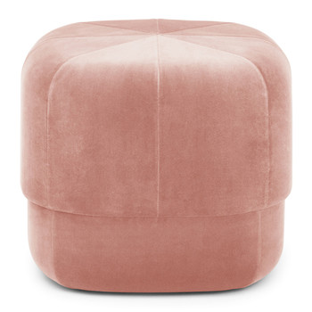 Circus Pouf Small Dark Blue Red Blush Ottoman Living Room Furniture ...