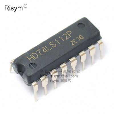 5 PCS SN74LS112AN DIP-16 SN74LS112 74LS112AN 74LS112 NEGATIVE-EDGE-TRIGGERED