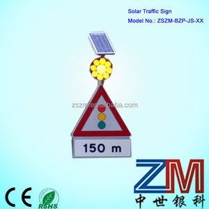 China low price well design traffic safety sign / solar road sign /traffic sign board