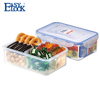 China Wholesale Good Sealing Food Packing Box: BPA Free PP Plastic Clear Multicompartment Food Container with Lid 1150ML/38oz