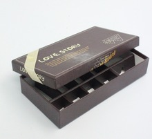 Alibaba Wholesale Printing New Design Cardboard Bin Box With Dividers, Custom Logo Recycle Chocolate Packaging Box