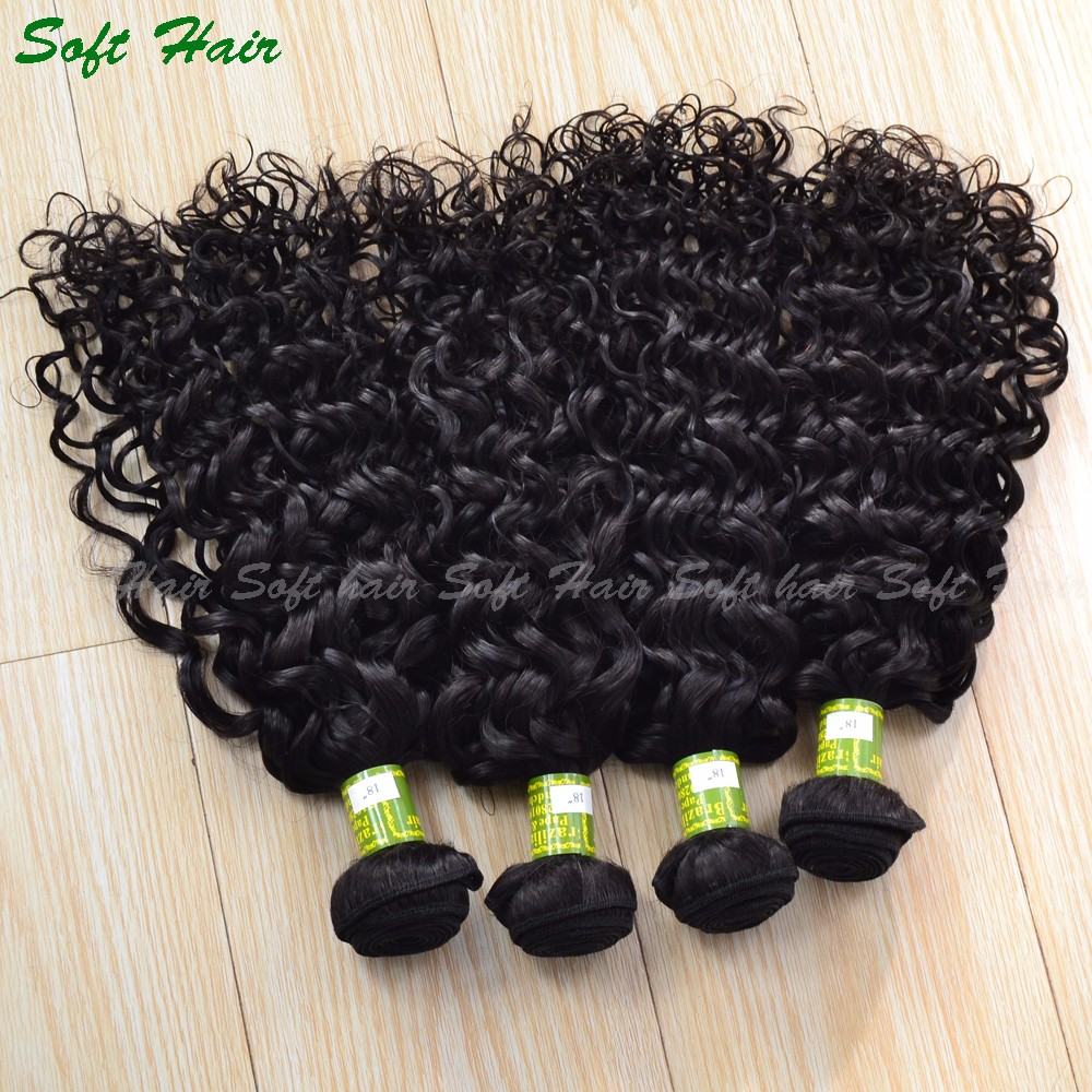 Cheap Grade 8a Human Hair Extensions Malaysian Virgin Hair 100% Unprocessed Deep Curly Water Kinky Wave Hair
