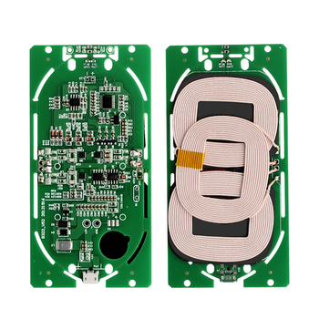 Hot Qi Wireless Charging Transmitter Pcb For Headphone/mobile Phone - Buy  Wireless Charger Transmitter Pcb,3 Coil Wireless Transmitter Pcba,Wireless