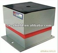Housed adjustable vibration isolator