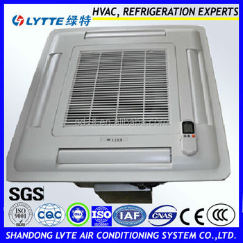 Chilled Water Cassette Type Fan Coil Unit For Air Conditioning System - Buy  Chilled Water Cassette Type Fan Coil Unit,Cassette Type Fan Coil