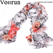 Customize Exquisite Silk Pongee Guangzhou Scarf