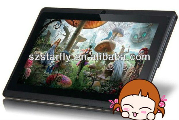 2013 cheapest Q88 tablet pc projector with ALL WINNER A13 and android OS