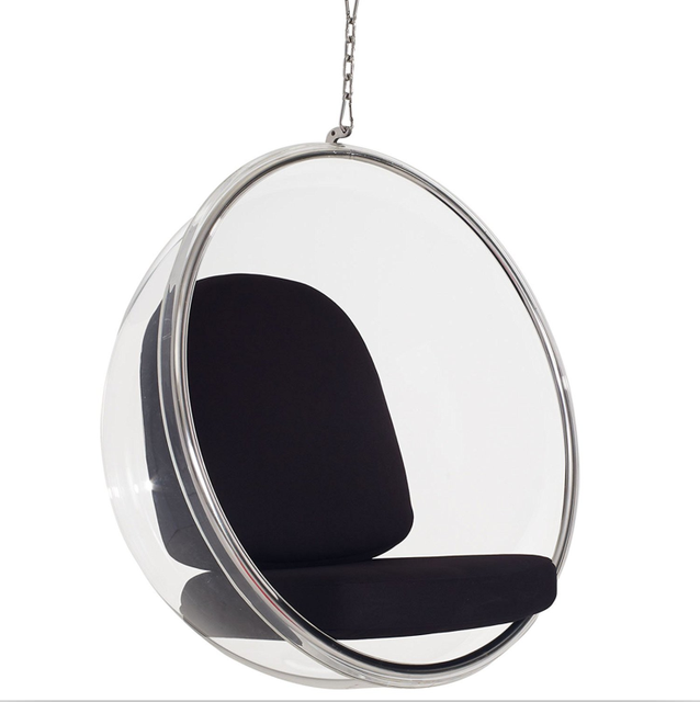 Leisure Transparent Large Ball Clear Hanging Acrylic Bubble Chair