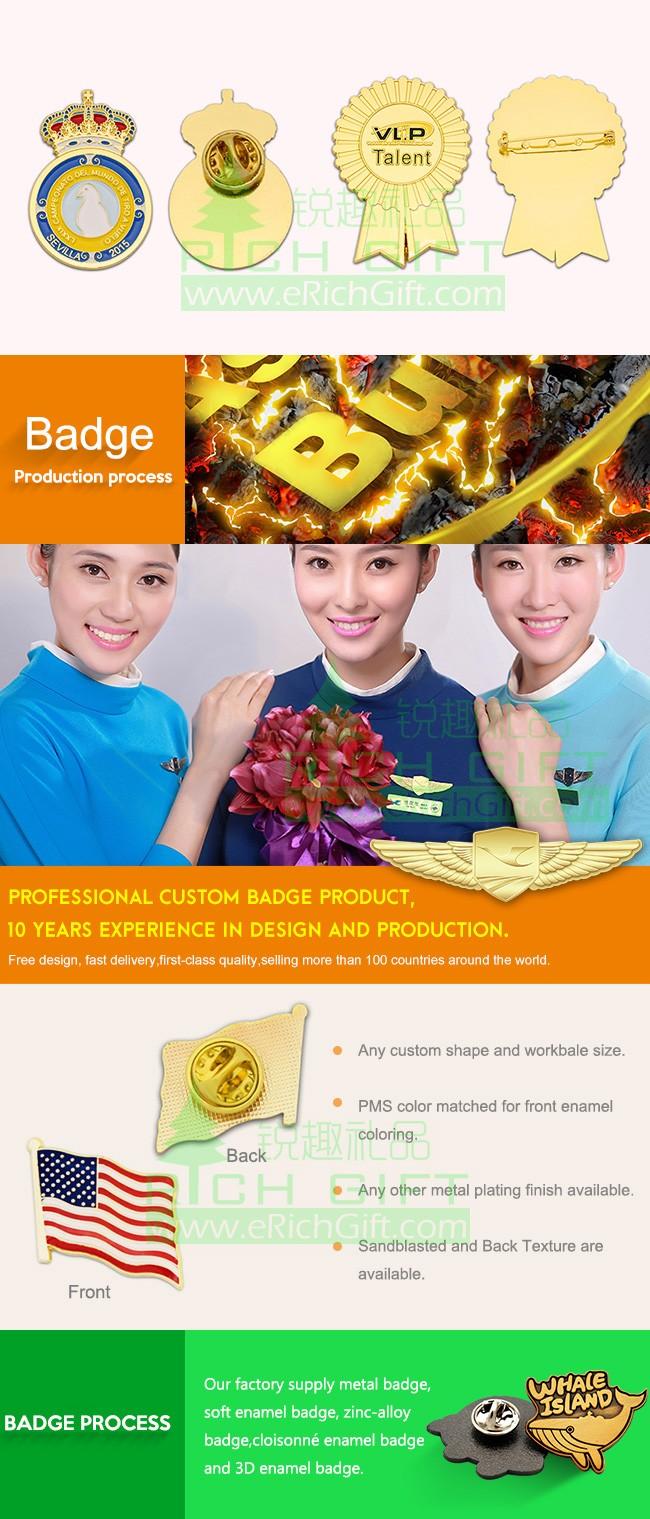 Designers Supplies Custom Gold/silver/nickel Metal Enamel/brooches Lapel  Pin Badge - Buy Enamel Lapel Pins,Football Pin Badges,Sports Lapel Pin