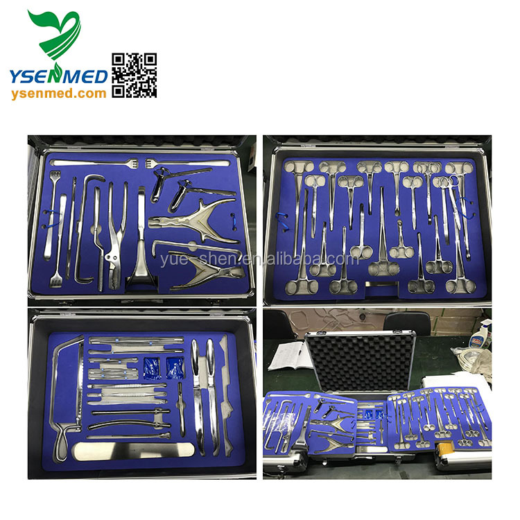 W-YZ Bone Operating Instrument Kits Bone Surgery Set Stainless Steel Orthopaedics Surgical Instruments Set