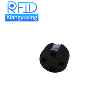 LF UHF screw thread worm rfid waste bin tag for ashcan