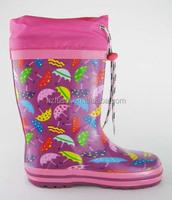 2017 small umbrella kid rain boot