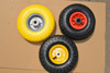 hot selling flat free wheelbarrow tyre / wheel barrow pu foam wheel