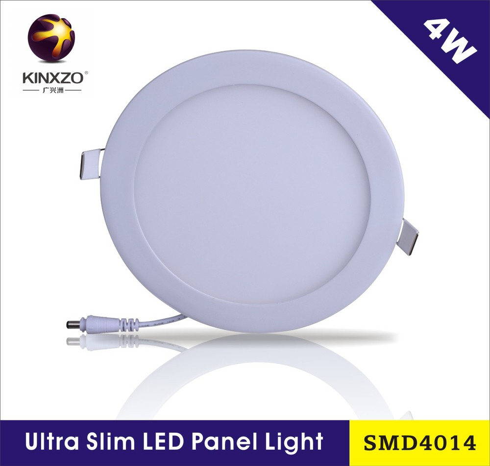 China manufacturer smd2835 ip44 round recessed led flat panel lighting&light