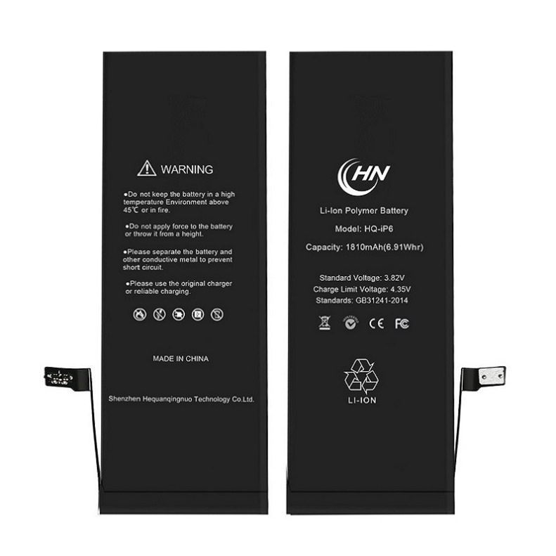 Genuine li-polymer mobile phone batteries for iphone 6 battery cell original фото