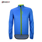 Customized Item Water Resistant Blue Cycling Winter Jacket/Bicycle Windbreaker