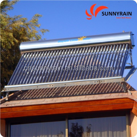 China Factory OEM SUS304/SUS316 solar water heater supplier