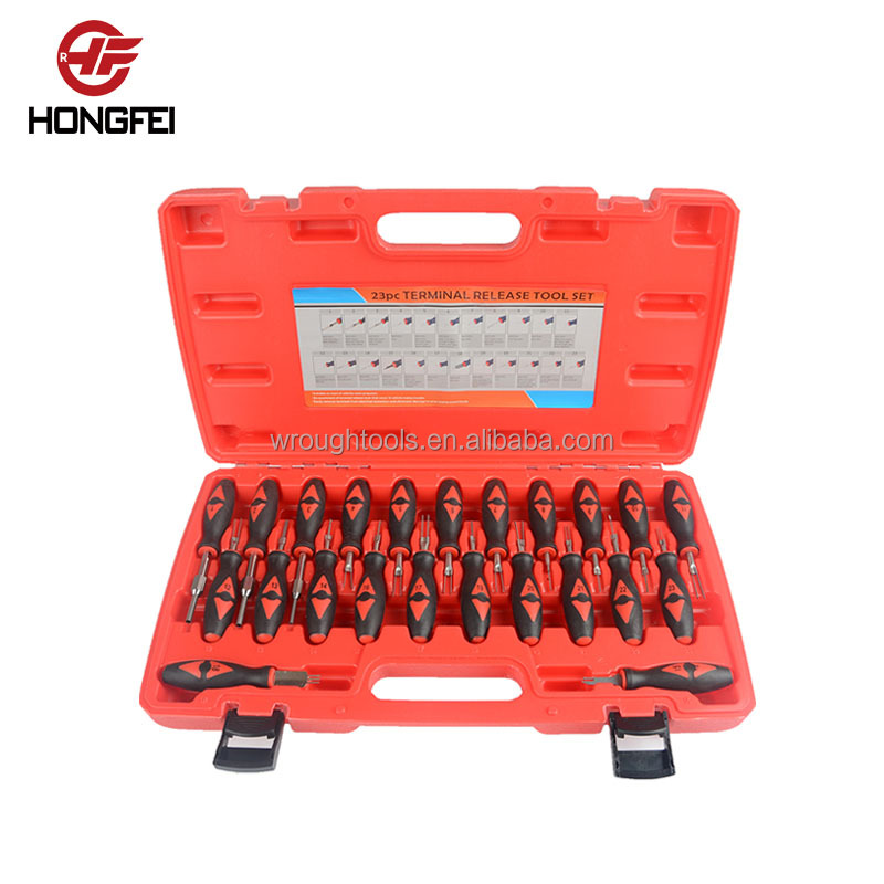 23PC Universal hand tool set automotive connector pin removal tool