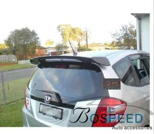 Carbon Fiber Rear Spoiler Mugen Style for Honda Fit Jazz