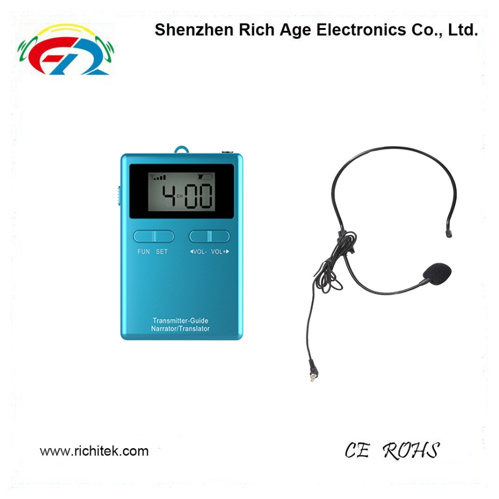 Professional High Power E-Guide assistive listening equipment