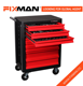 FIXMAN 8-Drawer Cabinet Hardware Roller Metal Tool Cabinet On Wheels