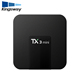 TX3 mini android 7.1 tv box quad core Amlogic s905w 1GB 2GB+16GB beat s905 rk3229 a95x streaming box with LED display