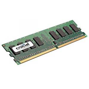 CRUCIAL 2GB 667MHz DDR2 PC2-5300 [CT25672AA667]
