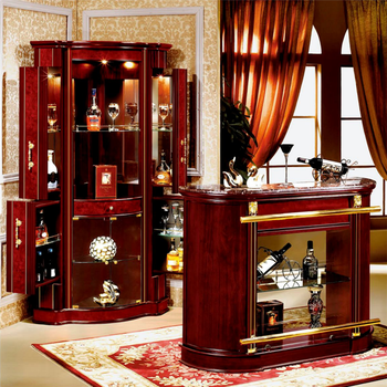 China Furniture American Classic Home Bar Counter Corner Bar Cabinet For  Sale