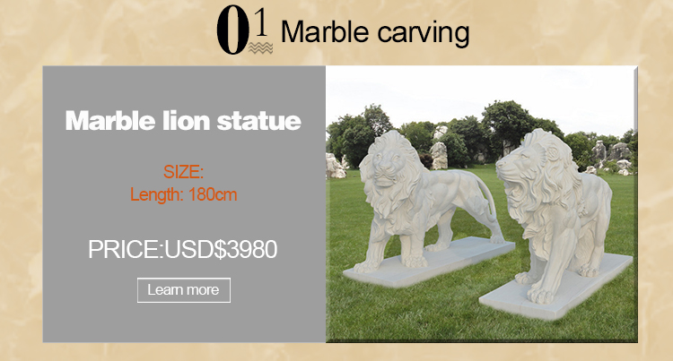 Marble Animal Statues Outdoor Stone Swan Sculpture