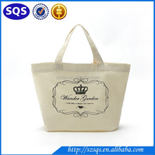 China Manufacturer Wholesale Cheap Reusable Canvas Grocery Shopping Tote Bags With Custom logo