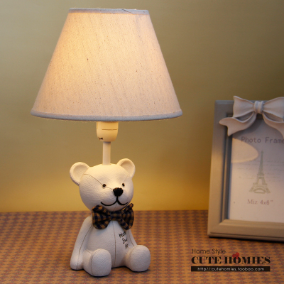 Teddy Bear Lamps Children S Bedroom Decor Resin Table Lamp