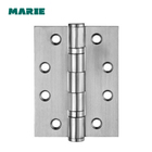 Stainless steel 360 degree ball bearing 4 bearings door hinge for wood frame