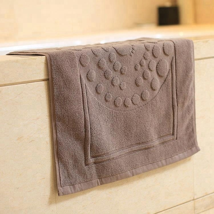 Wholesale Cotton Bath Mat for Luxury Hotel Bathroom Foor,FootTowels