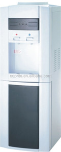 Compressor cooling water dispenser machine with refrigerator