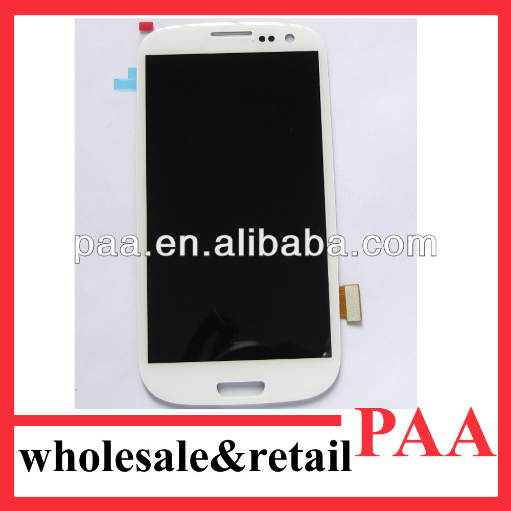 Wholesale display touch screen for Samsung S3 i9300 high quality