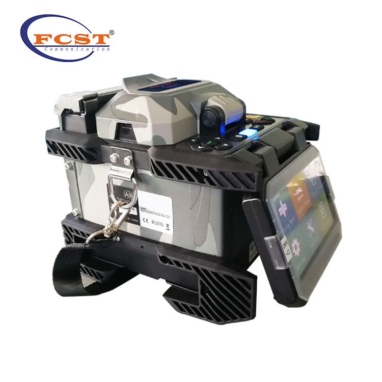 Factory Supply Price English Hot Six Motors ARC Signal Fire Fiber Optic Fusion Splicer Splicing Machine FFS-80D