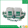High viscosity super glue with low blooming with low odor with a flexible
