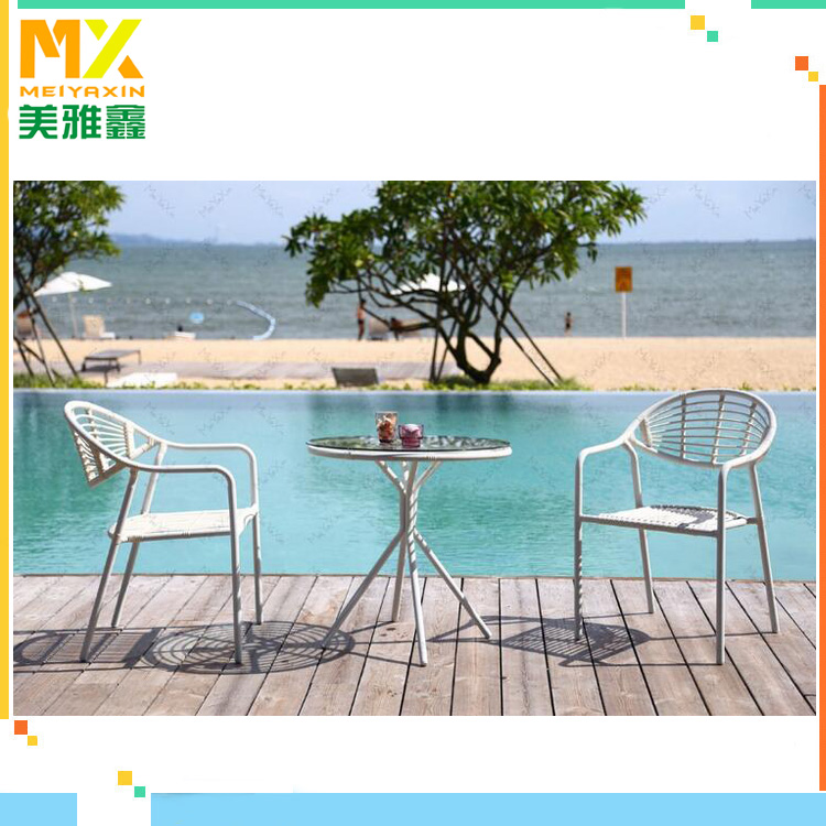 2016 cheap hotel terrace cane outdoor furniture