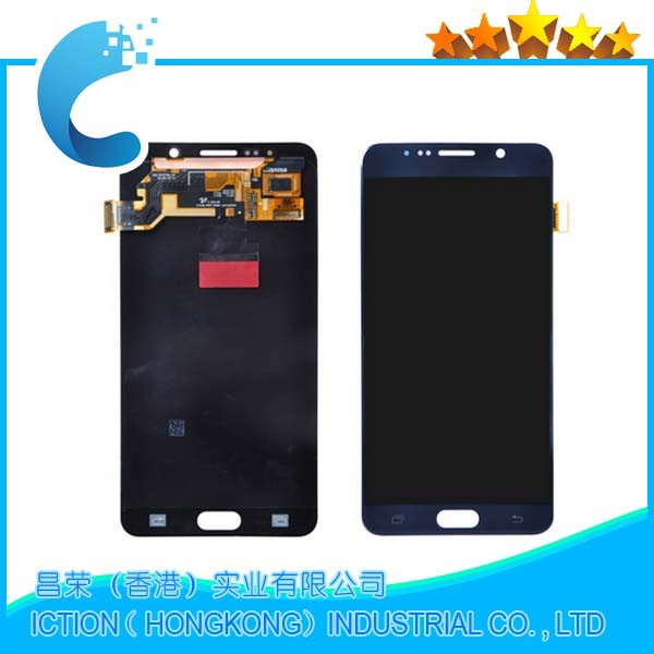 Original 100% Test LCD For Samsung Galaxy Note 5 LCD Display Touch Screen Digitizer assembly