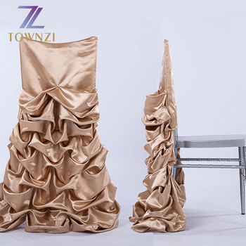 Super Stylish Skirt Design Rose Gold Chair Skirt Cloth New Arrival Polyester Pleated Skirt Style Wedding Chair Cover Cloth Buy Wedding Chair Cover Alphanode Cool Chair Designs And Ideas Alphanodeonline