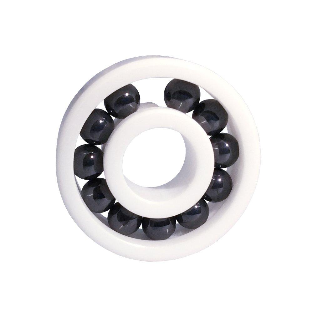 608 Full Complement Ceramic Bearing 8x22x7mm Si3N4 ceramic Ball Bearings