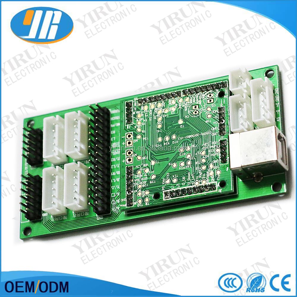 Brook Ps4 Ps3 Pc 3 In 1 Arcade Controller Usb To Joystick Button Xbox 360 Wiring Diagram Encoder